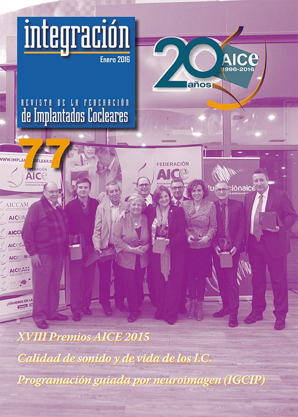 XVIII Premios AICE 2015